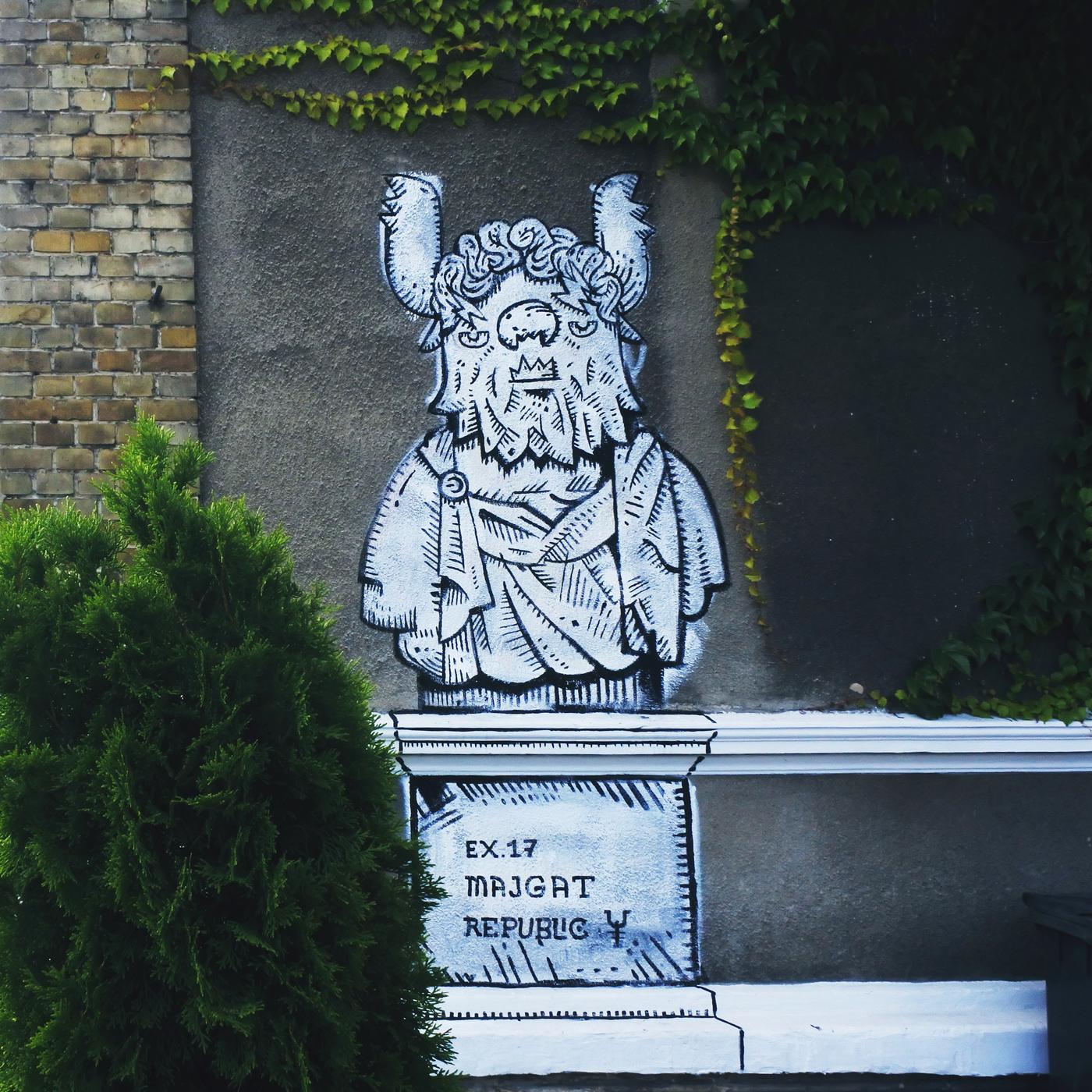 majgat street art